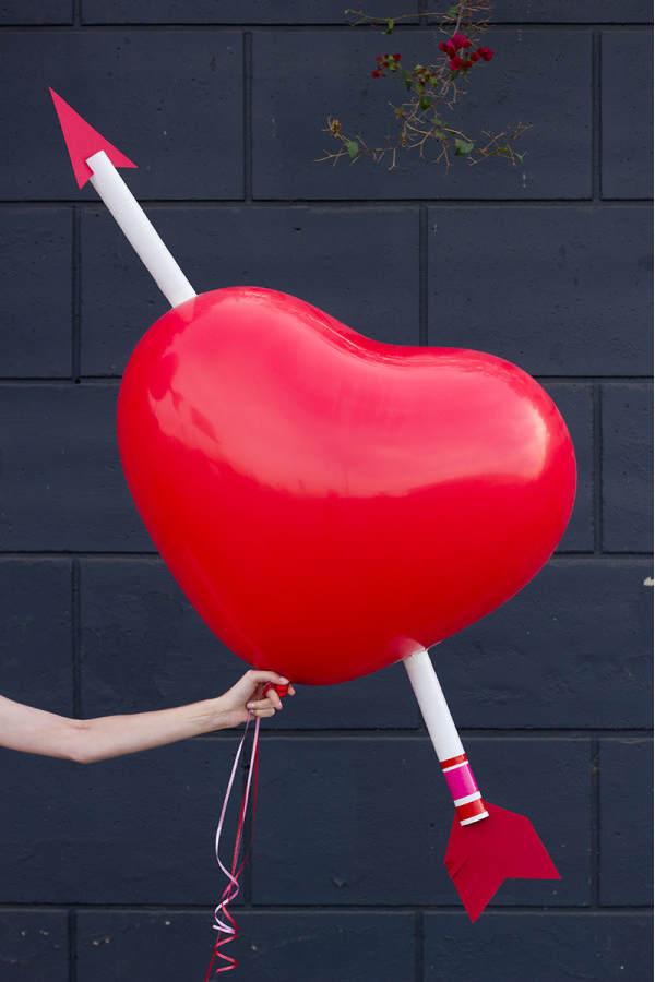 Idées déco avec des ballons pour la Saint Valentin
