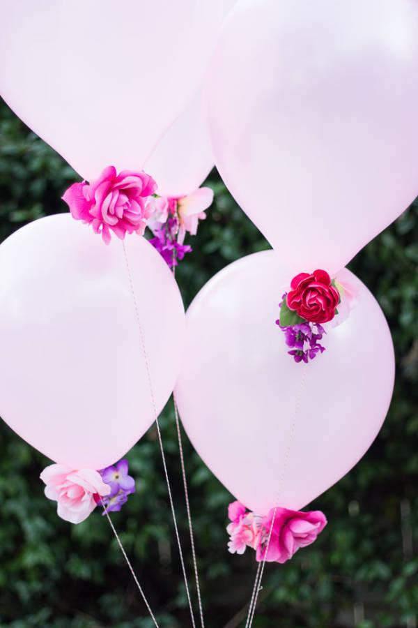 Saint-Valentin: idées romantiques pour décorer avec des ballons