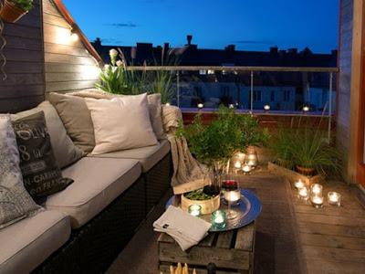 Surprenez la décoration de votre balcon ou terrasse avec ces 7 astuces simples et pas chères