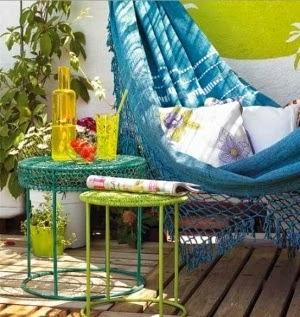 Idées pour décorer les terrasses et les jardins