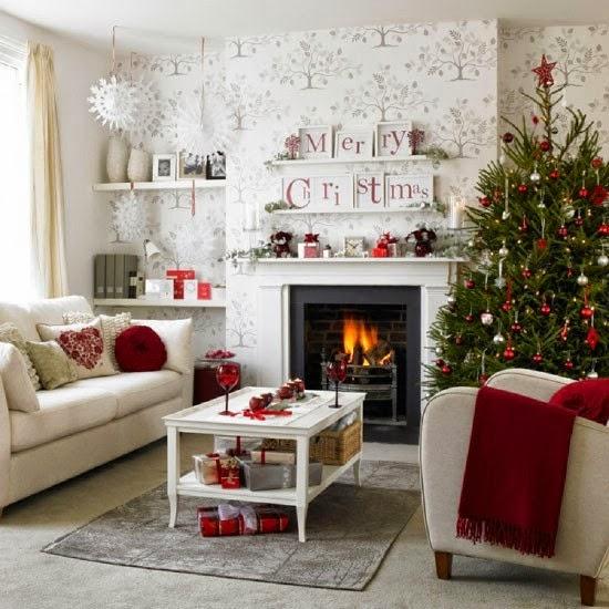 8 idées pour décorer votre salon ce Noël