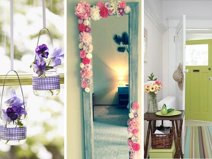 idées de décoration au printemps