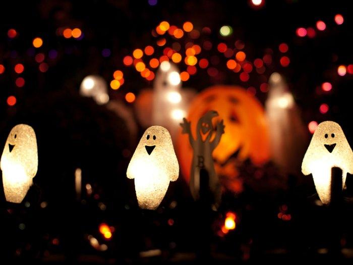 décoration pour les lumières d'halloween