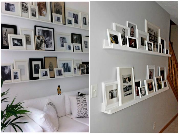 Encadrez et placez différentes photos