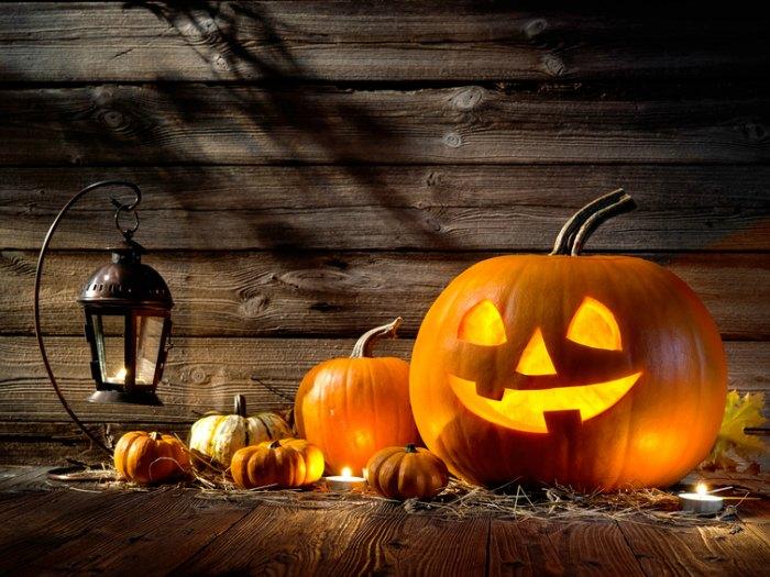 décoration pour citrouilles d'halloween