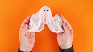 Comment faire un fantôme en lévitation Étape 6