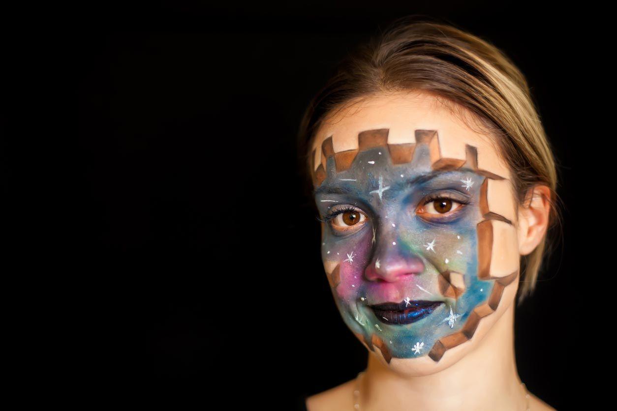 Maquillage de galaxie 3D