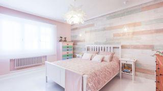 Décorez une chambre dans des tons roses