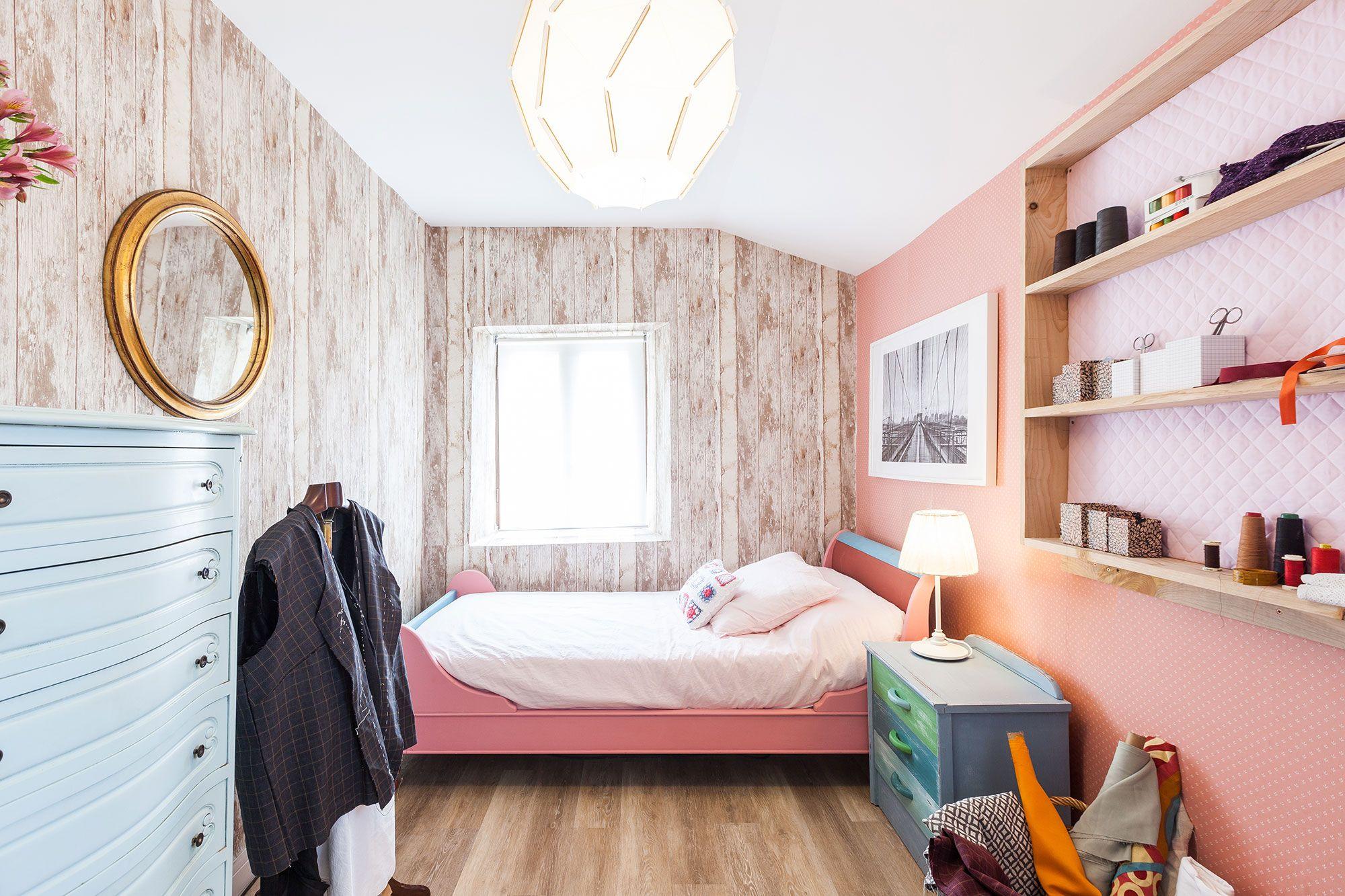Transformez la cabine en chambre et en studio de couture