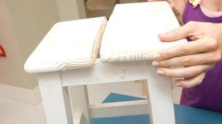 Peindre des chaises en bois - Étape 2