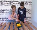 Étape 8 pour décorer une chambre avec un papier peint gai et jeune