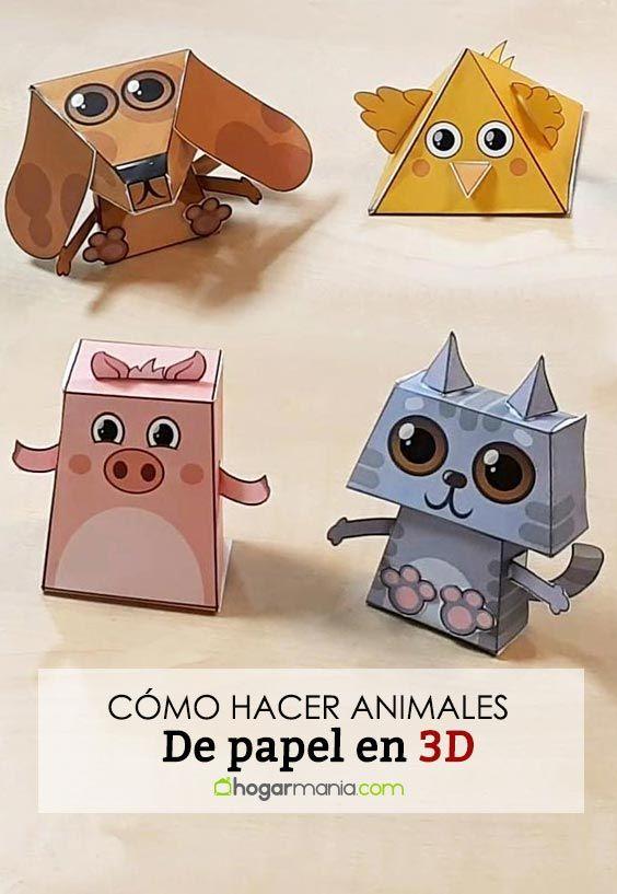 Comment faire des animaux en papier 3D