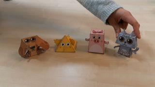 Comment faire des animaux en papier 3D Étape 4