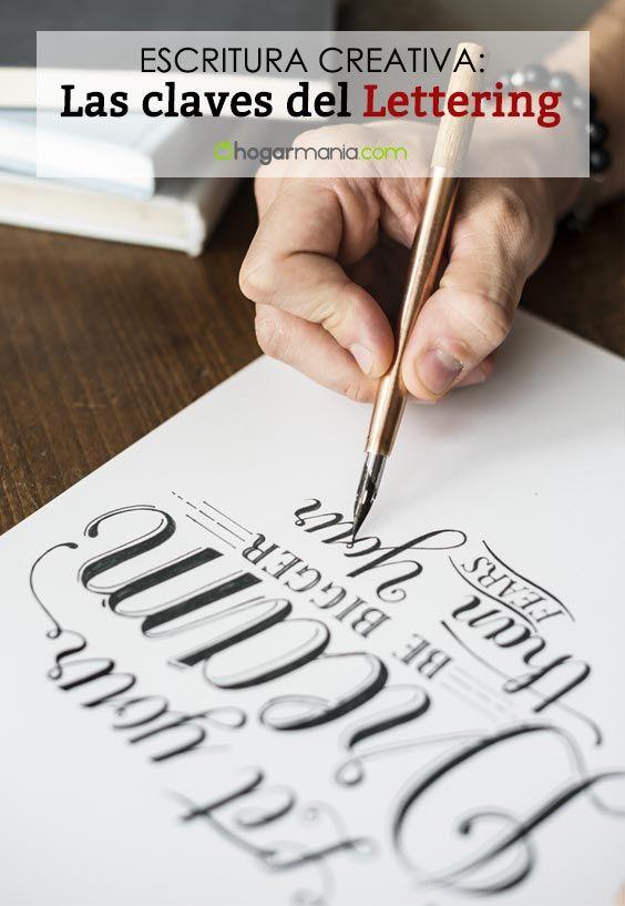 Apprendre le lettrage: les 5 clés pour faire de la calligraphie créative