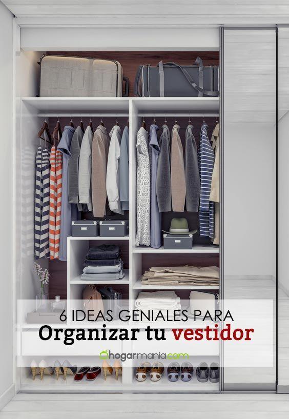 6 bonnes idées pour organiser votre dressing