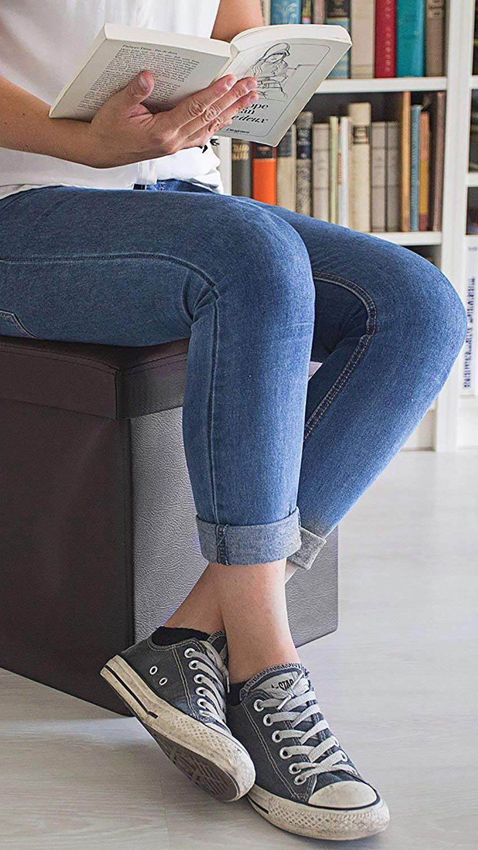 Puffs ou sièges avec rangement