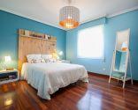 Chambre double bleu et blanc