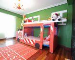 Décorer les pompiers de la chambre des enfants