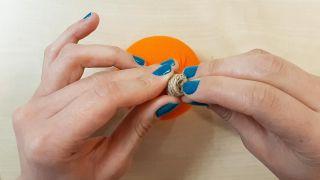 Comment faire des citrouilles en tissu - Étape 5