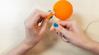 Comment faire des citrouilles en tissu - Étape 4