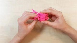 Comment faire des bonnets miniatures - Étape 4