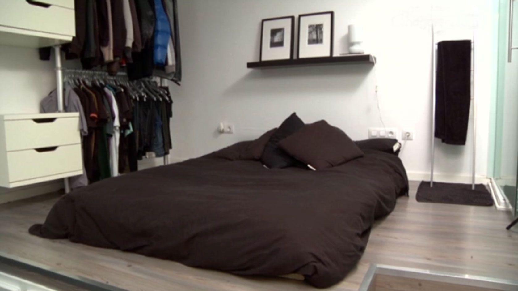 Mini plancher fonctionnel en noir et blanc