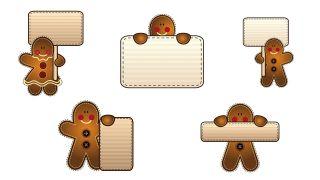 Étiquettes de style cookie