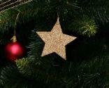 Décorations d'arbre de Noël recyclées