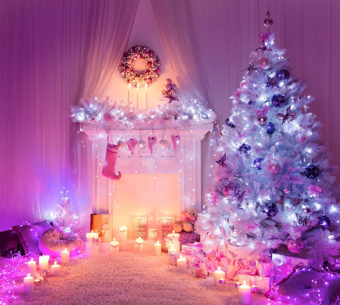 Décorer la cheminée à Noël