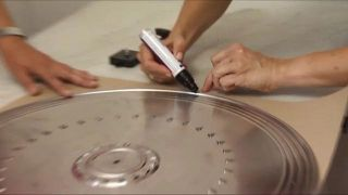 Comment faire une horloge originale ... avec un couvercle de poêle!  - Étape 2