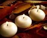 Décoration d'automne: bougies