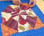 Édredon patchwork Block 2