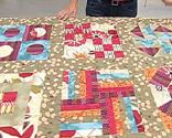 Couette patchwork Block 7