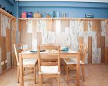 Décorez une salle à manger rustique
