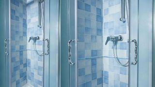 Carrelage uniquement dans la douche