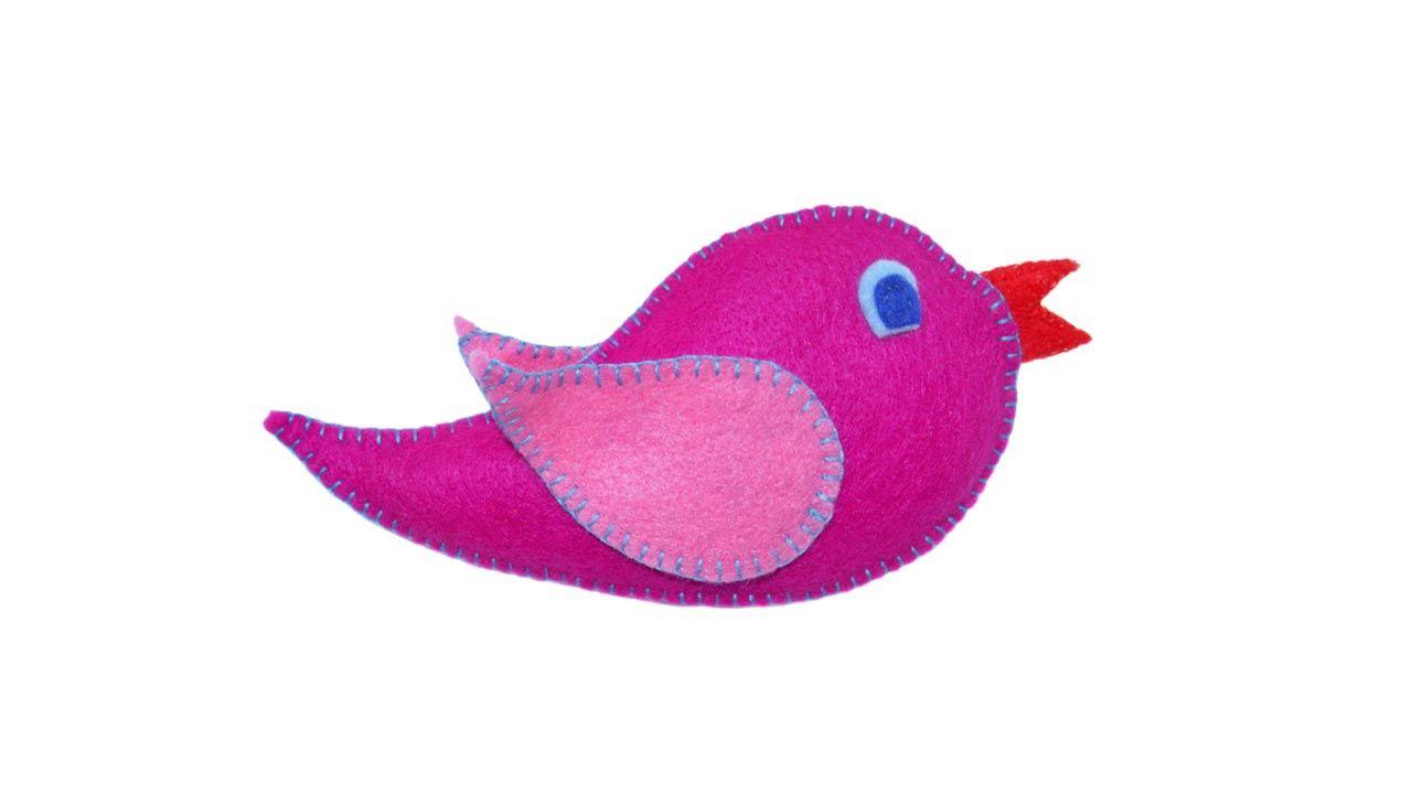 5 idées pour faire des oiseaux avec du feutre