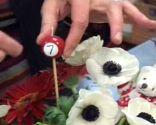 centre de table fleurs anniversaire des enfants étape 5