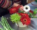 centre de table fleurs anniversaire des enfants étape 4