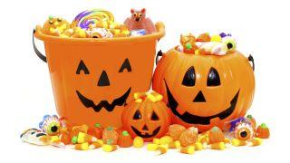 Espace enfants lors d'une fête d'Halloween