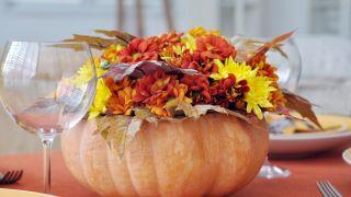 Arrangements floraux pour une fête d'Halloween