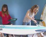 Faire une tête de lit avec des planches de surf