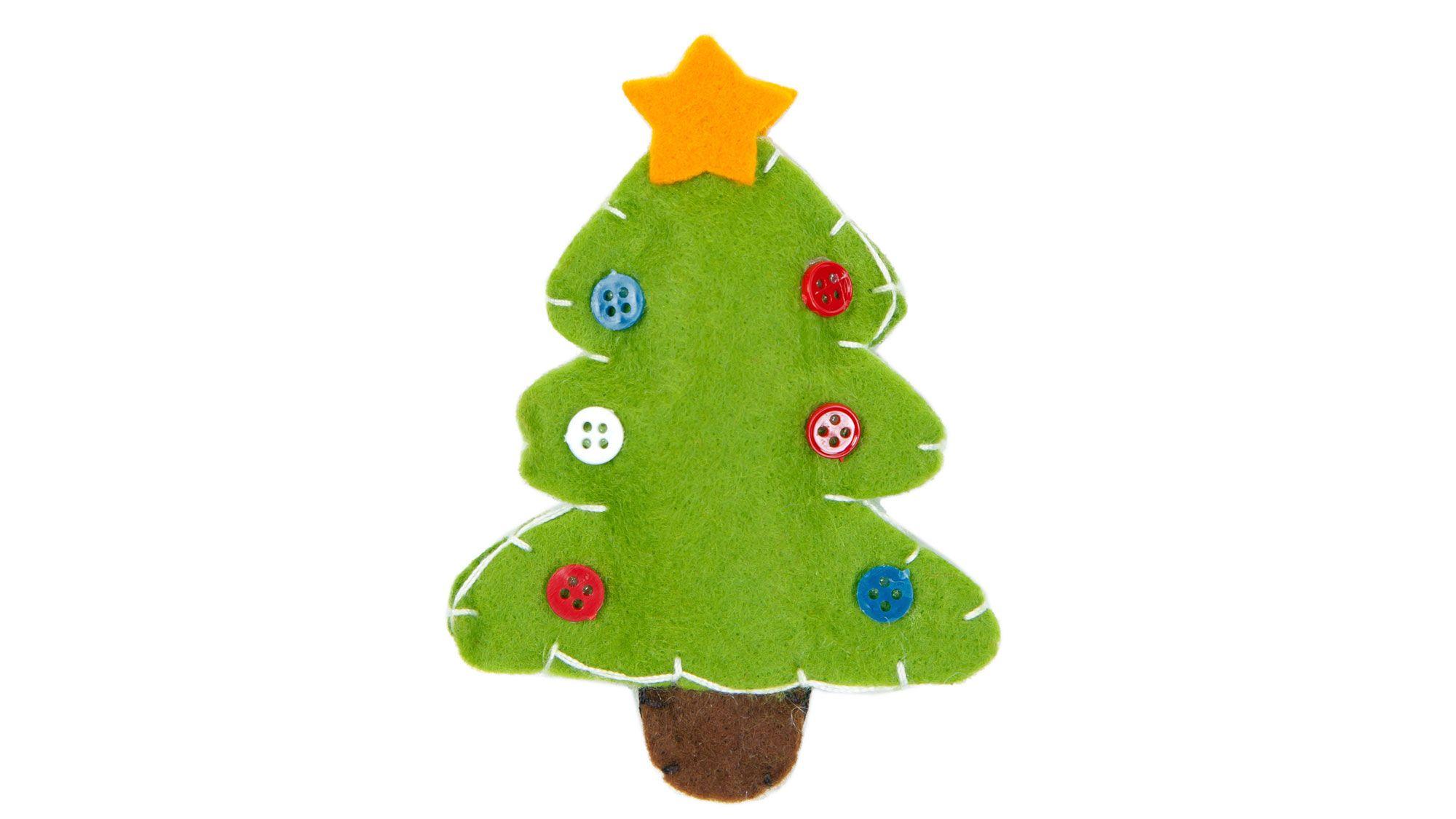 Faire un sapin de Noël en feutre
