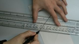 Flocons de neige en papier - Étape 4