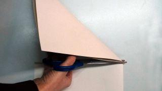 Flocons de neige en papier - Étape 2