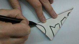 Flocons de neige en papier - Étape 8