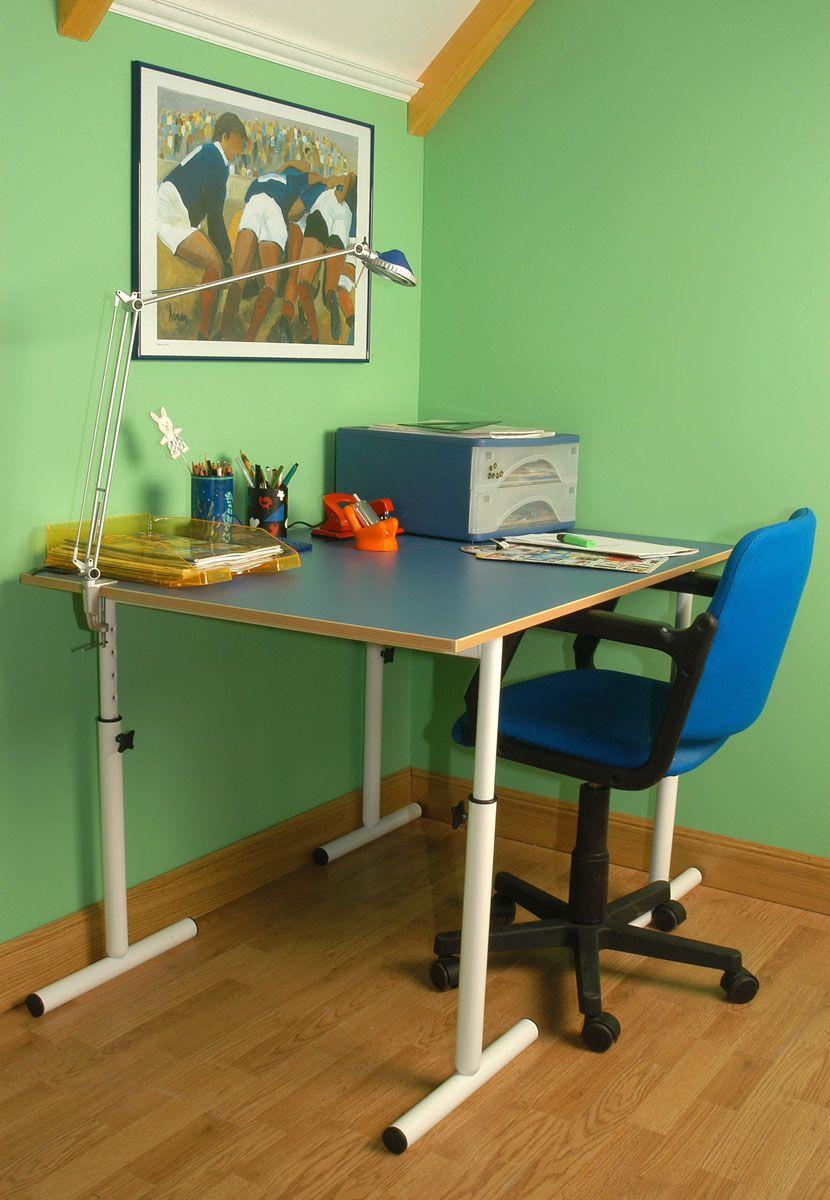 Mise en place d'une table réglable en hauteur