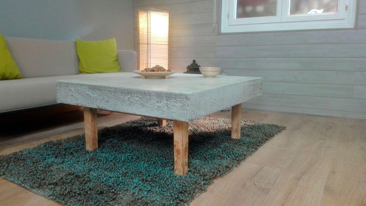 Table en béton