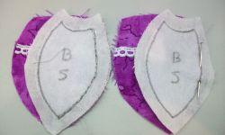 sac à main patchwork avec bec verseur - étape 4