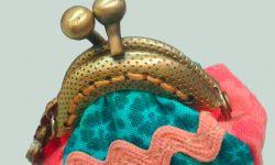 sac à main patchwork avec buse - buse à coudre
