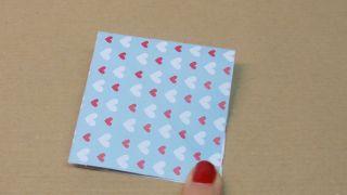 Marque-pages en forme de cœur - Étape 3